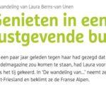 """Lezersverhaal Laura in """"Wandel"""""""